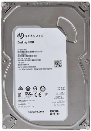 "Seagate BarraCuda 1TB 3.5"" Inter,  Deskt, HDD SATA 6Gb/s"