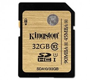 Kingston 32GB SDHC Class 10 UH