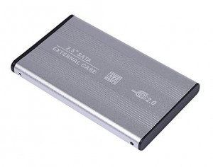 "3.5"" Ext. USB 2.0 HDD Enclosure w/stripe (Alum)"