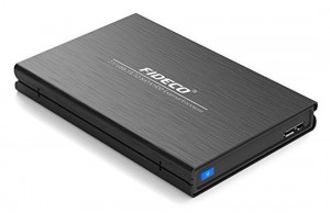 "Fideco 2.5"" USB 3.0 External Enclosure"