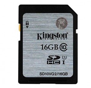Kingston 16GB SDHC Class 10 UH