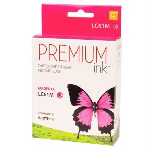 Brother LC61XL Compatible Magenta  Premium Ink