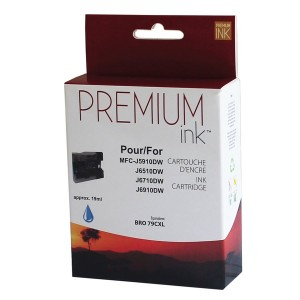 Brother LC79XL Compatible  Cyan  Premium Ink (19 ml)