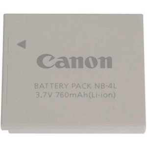 Canon NB-4L Lithium-ion Battery for PowerShot Digital Elph Cameras