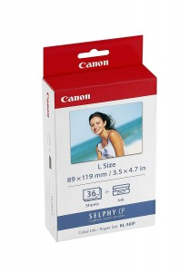 Canon Kl36ip Ink Cassette/label Set