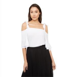 Flamenco Cold-Shoulder Top