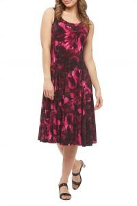 Floral-Printed Jersey Tank Dress