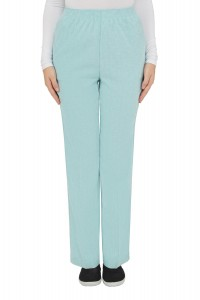 Linen Finish Pull-On Pants