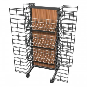 Wire Rack With Wire Bins