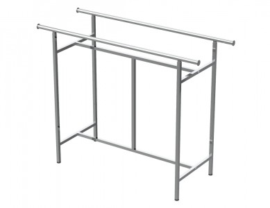 Adjustable Double Rail Rack