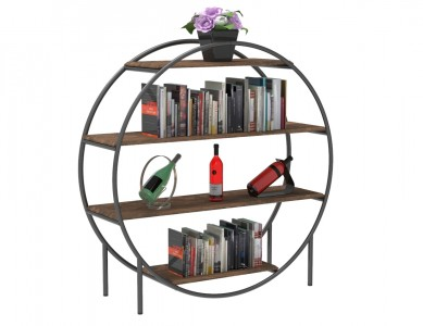 Round 4 Tier Shelf Display