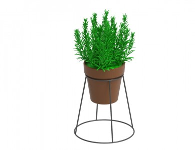 Round Shape Small Flower Pot Stand